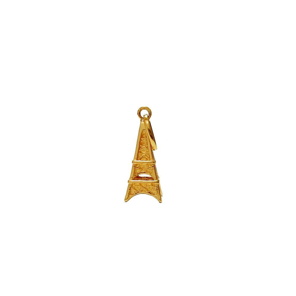 imagem Pingente em Ouro 18k. torre Eiffel